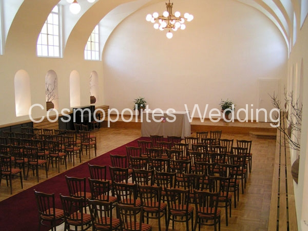 Свадьба в замке Добриш - церемониальный зал