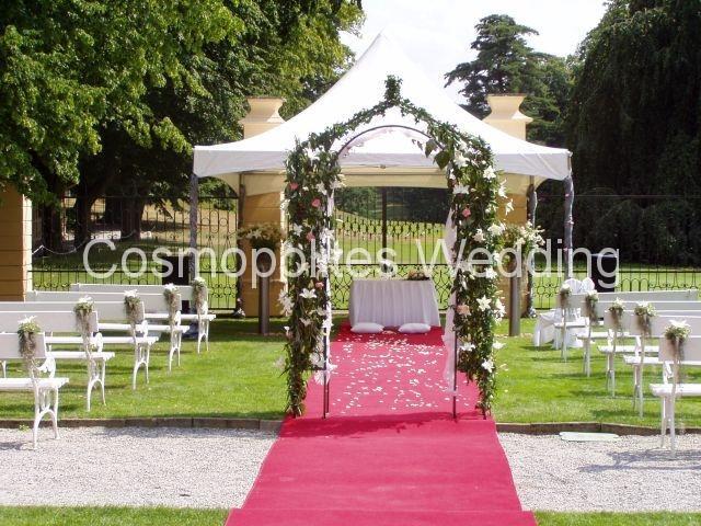 Свадьба в замке Штирин - Французский сад