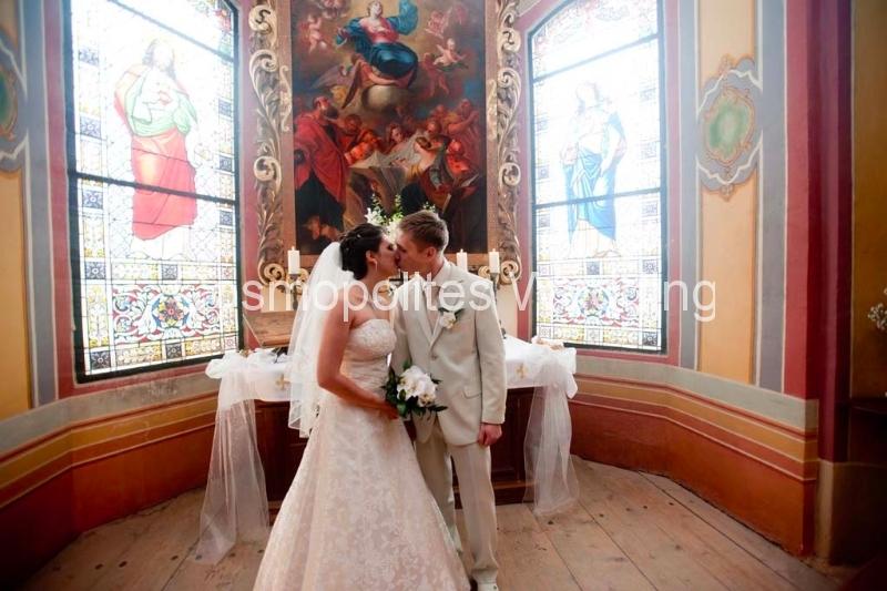 Свадьба в замке Збирог - часовня замка