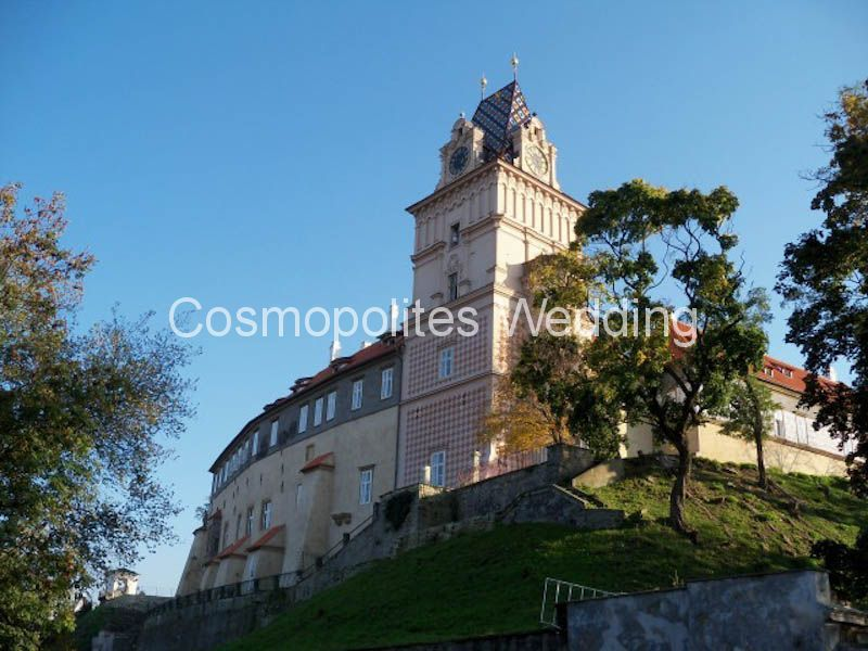 Wedding-in-castle-Brandys-nad-Labem-view-outside