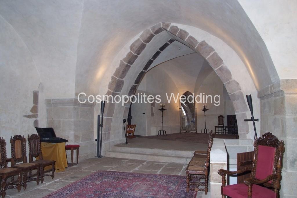 Церемониальный зал замка Кривоклат