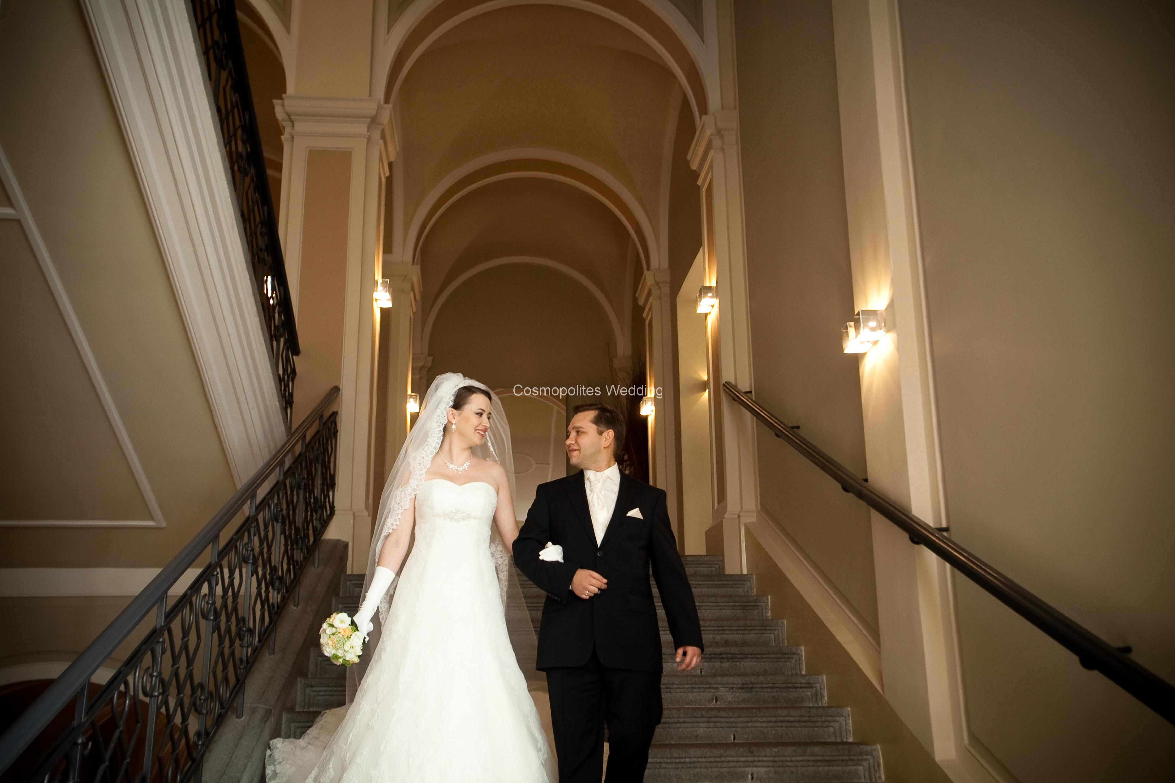 Свадьба в Нусельской ратуше в Праге