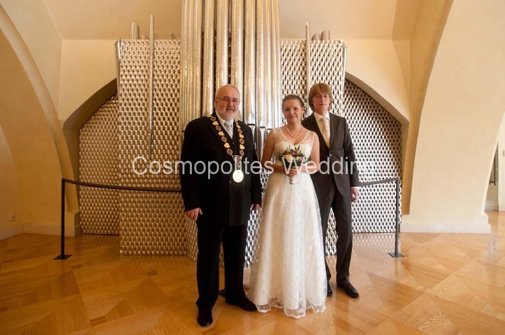 Прага свадьба в ратуше 8