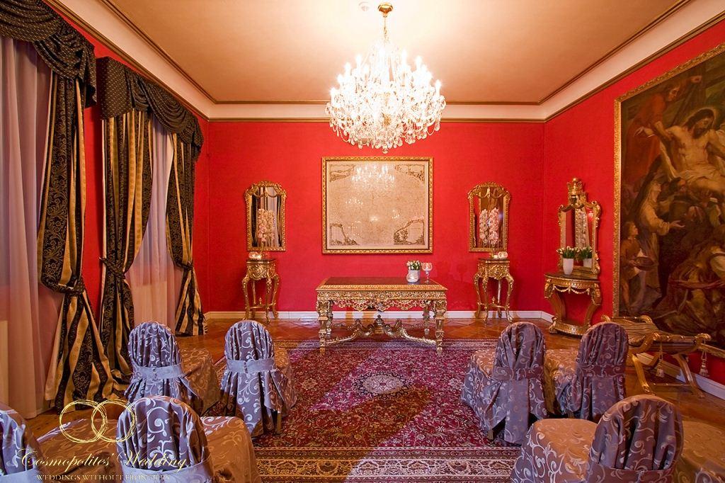 Свадебная церемония в Зеркальном зале отеля Алхимист