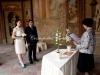 Свадебная церемония в Вртбовском саду Праги