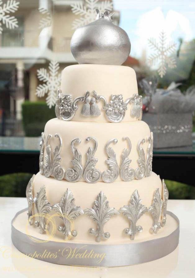Свадебные торты с фондю фото