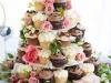 Торт из свадебных кексов