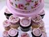 Свадебный торт и свадебные кексы