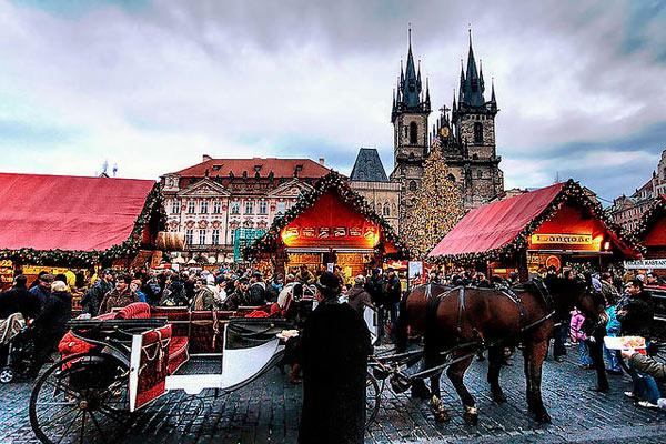 Идеи для зимней свадьбы в Чехии! - фото Рождественские пражские рынки