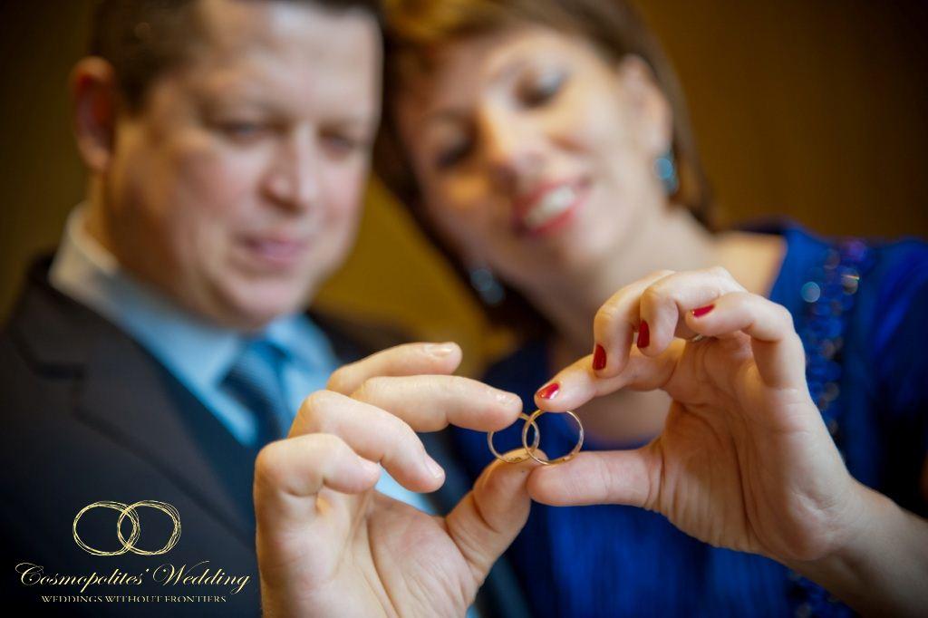 Свадьба Игоря и Анастасии — 17.1.2013 в Староместской ратуше - фото Зимняя свадьба в Староместской ратуши