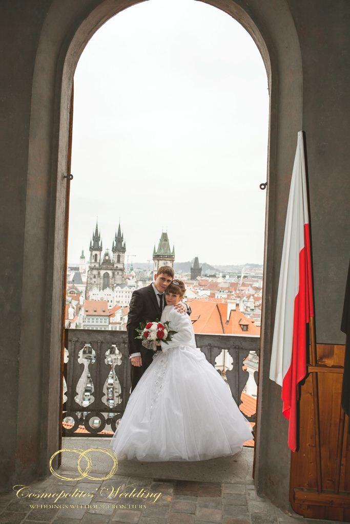Свадьба Алексея и Веры — 28.2.2013 в Староместской ратуше - фото Свадьба в Староместской ратуше - фото сессия в Клементинуме
