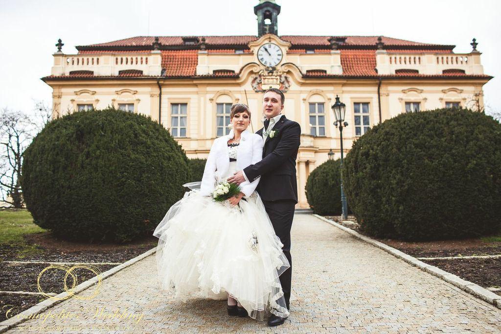 Свадьба Егора и Анастасии — 22.3.2013 в Либенском замке - фото Свадьба в Либенском замке Праги
