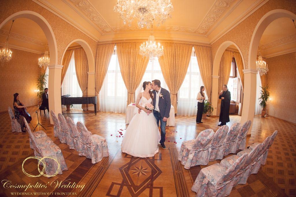 Свадьба Станислава и Анастасии — 26.4.2013 в Кайзерштейнском дворце - фото Кайзерштейнский дворец