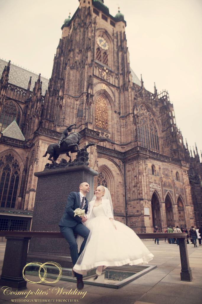 Свадьба Сергея и Татьяны — 28.3.2013 в Староместской ратуше - фото Свадьба в Староместской ратуше