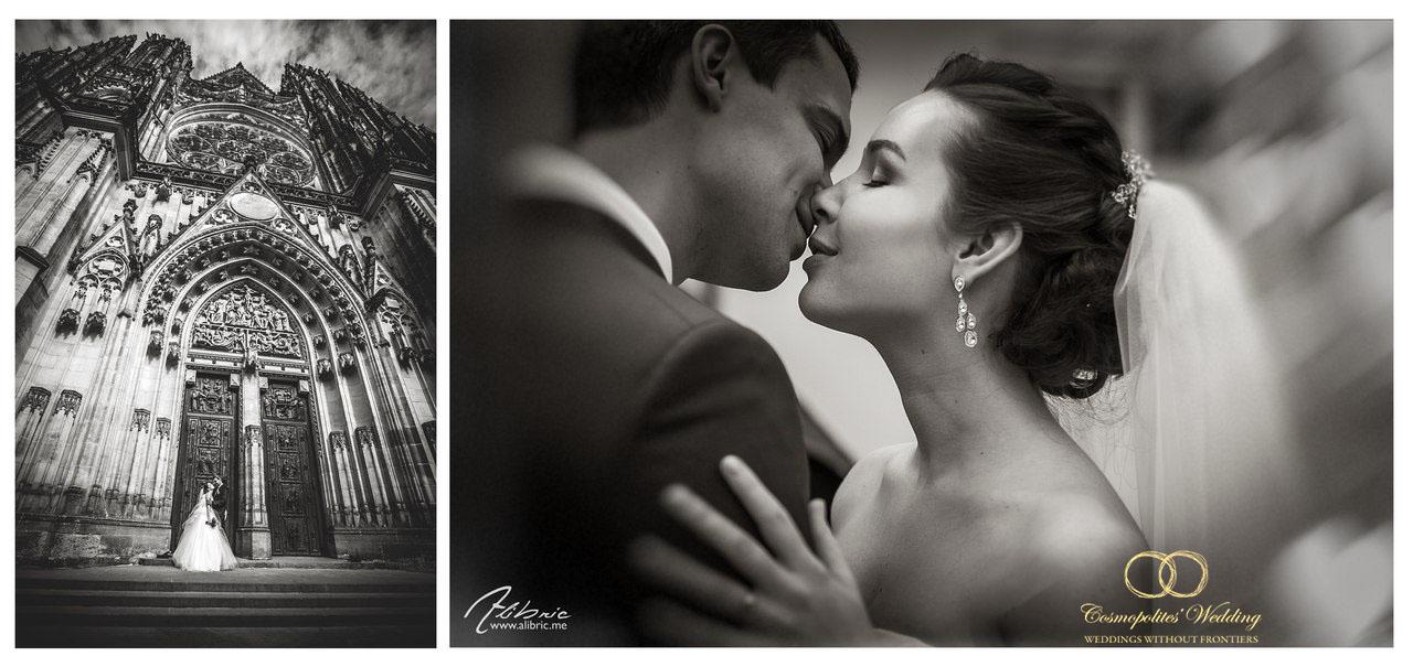 Свадьба Николая и Дарьи — 13.4.2013 в Кауницком дворце - фото Свадьба в Праге