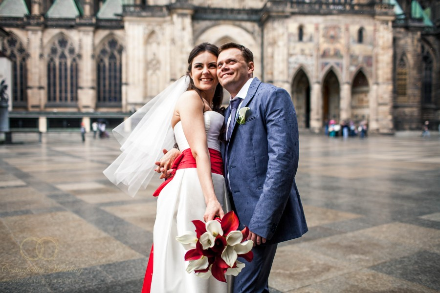 Свадьба Александра и Ольги — 9.5.2013 в Нусельской ратуше Праги - фото Свадьба в Нусельской ратуше