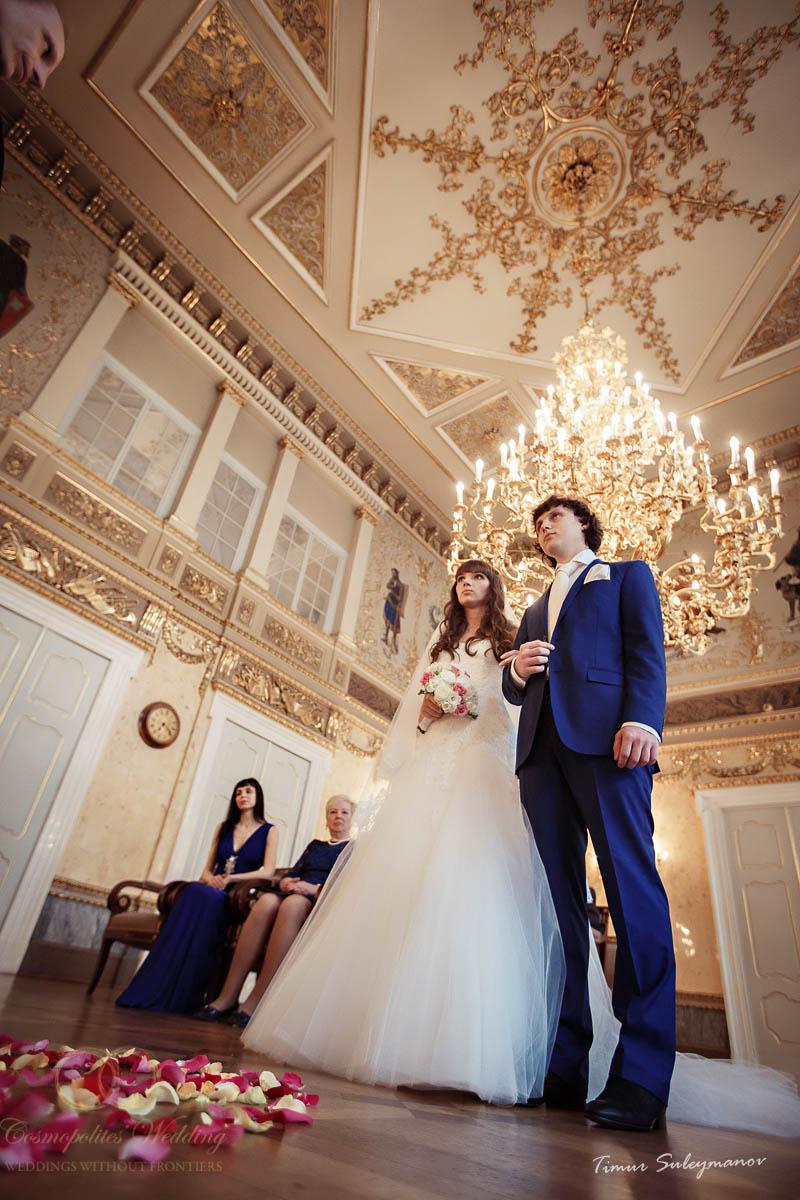 Свадьба Сосо и Ирины — 30.4.2013 в Кауницком дворце - фото Свадьба в Кауницком дворце