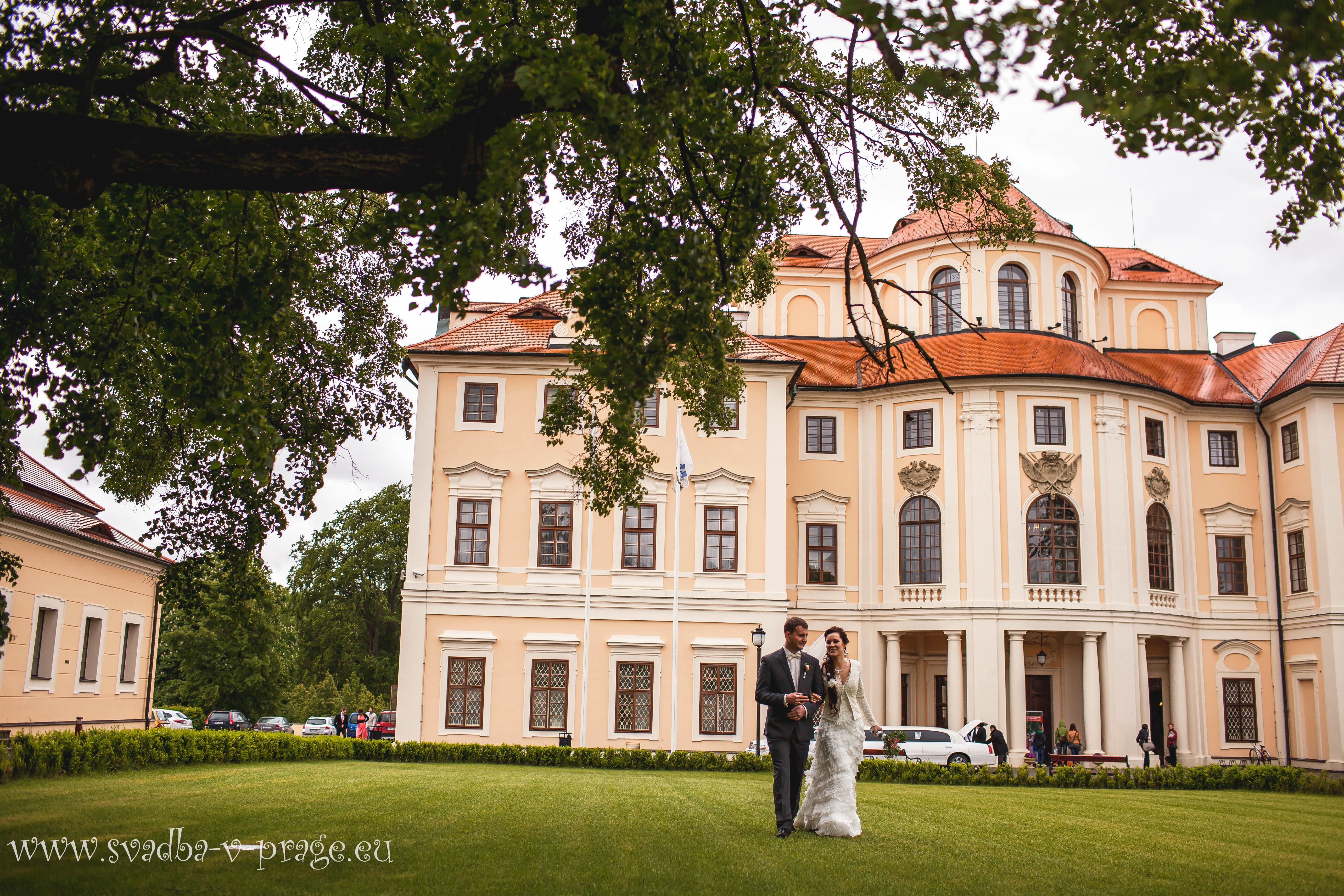 Свадьба Сергея и Нины 26.5.2013 в Шато Борокко - фото Свадьба в замке Либлице