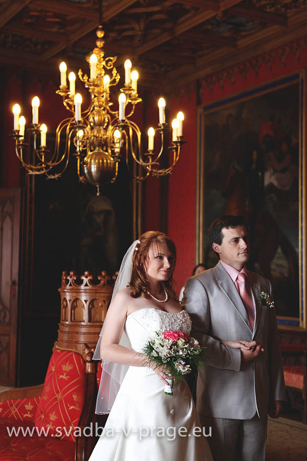 Свадьба Андрея и Оксаны — 16.5.2013 в замке Сихров - фото Свадьба в замке Сихров