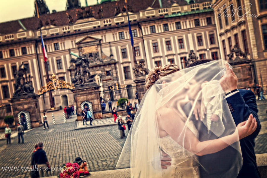 Свадьба Тимура и Аллы — 6.6.2013 в Либенском замке Праги - фото Свадьба в Либенском замке