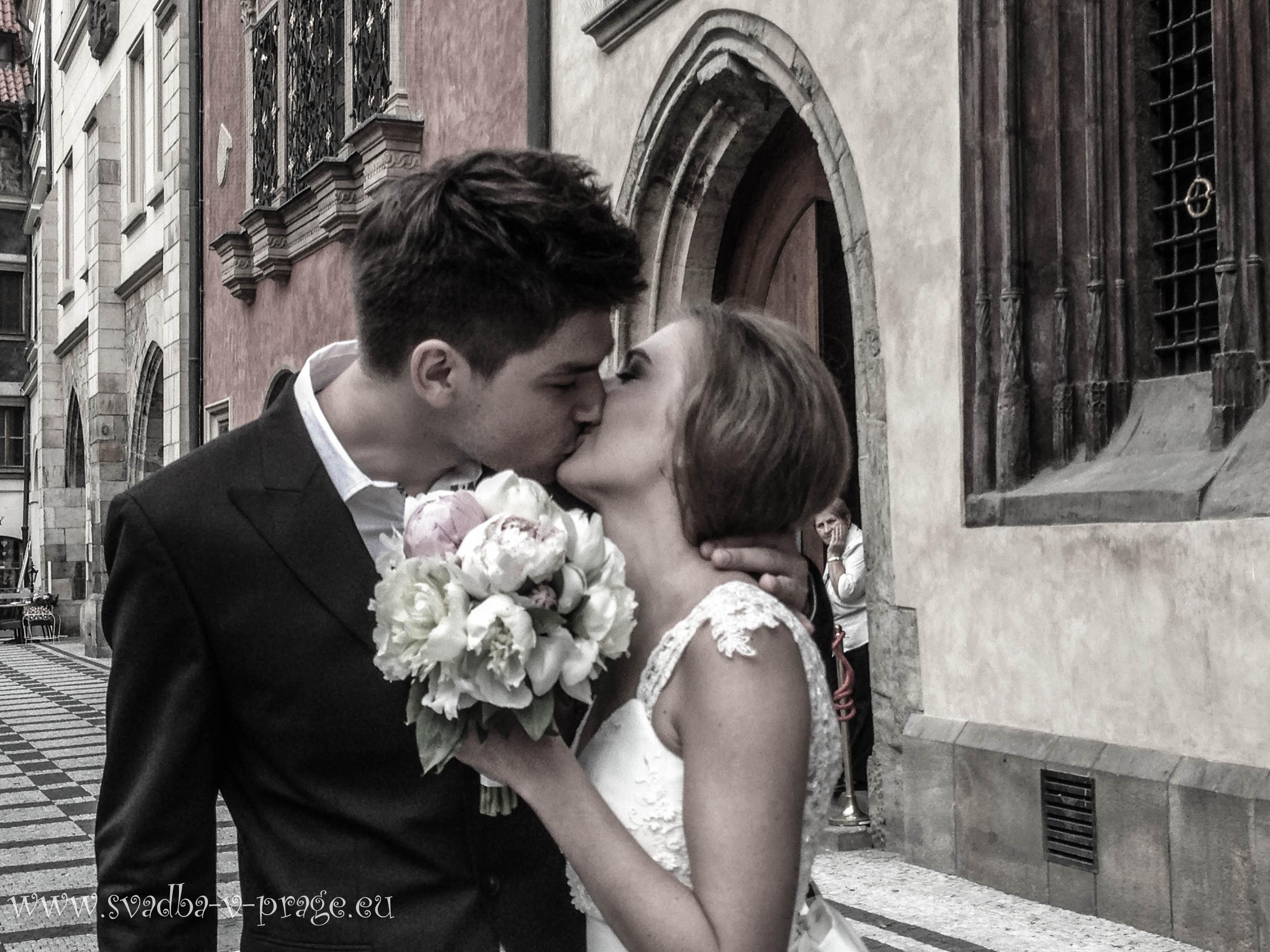 Свадьба Александра и Дарьи— 8.6.2013 в Староместской ратуше Праги - фото Свадьба в Праге