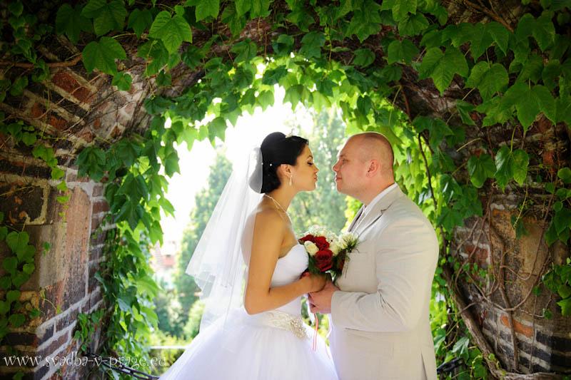 Свадьба в Либенском замке Александра и Татьяны — 26.7.2013 - фото Свадьба в Либенском замке