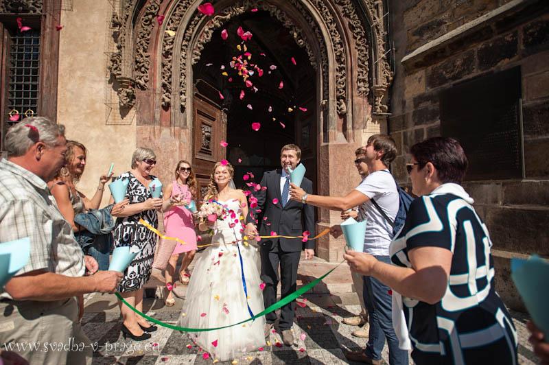 Свадьба в Староместской ратуше Евгения и Марины — 15.8.2013 - фото Свадьба в Староместской ратуше Евгения и Марины — 15.8.2013 №3586