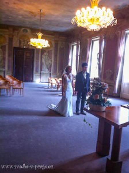 Свадьба в Либенском замке Кита и Керри 12.7.2013 - фото Свадьба в Либенском замке Кита и Керри 12.7.2013 №1