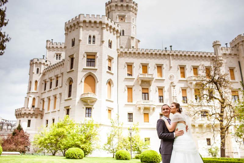 Свадьба Александра и Елены -17.5.2013 в замке Глубока над Влтавой - фото 17.5.2013-wedding-at-hluboka-castle