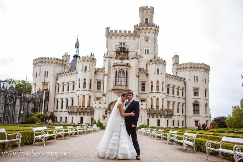 Свадьба Антона и Евгении-31.5.2013 в замке Глубока над Влтавой - фото 31.5.2013_hluboka-castle-wedding